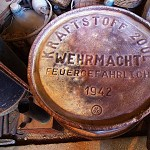 German jerrycan from World War II.