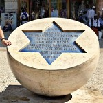 ...In memory of Jews killed on  19 April 1506 in Lisbon...