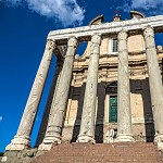 Temple of Antoninus and Faustina.